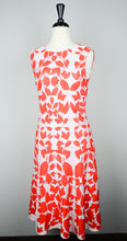 St. John Orange Print Dress