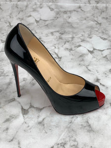 Christian Louboutin Peep Toe Pumps Sz. 7