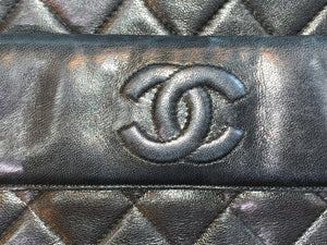 Chanel Leather Camera Style Vintage Bag