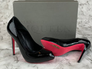 Alexander McQueen Patent Leather Pumps Sz 9