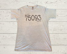 "Labels Graphic Tee- ""Plano Tx 75093"""
