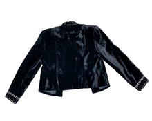 Double D Black Velvet Jacket