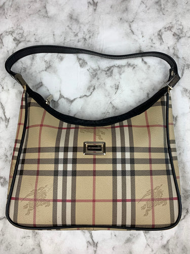 Burberry Hobo Shoulder Purse