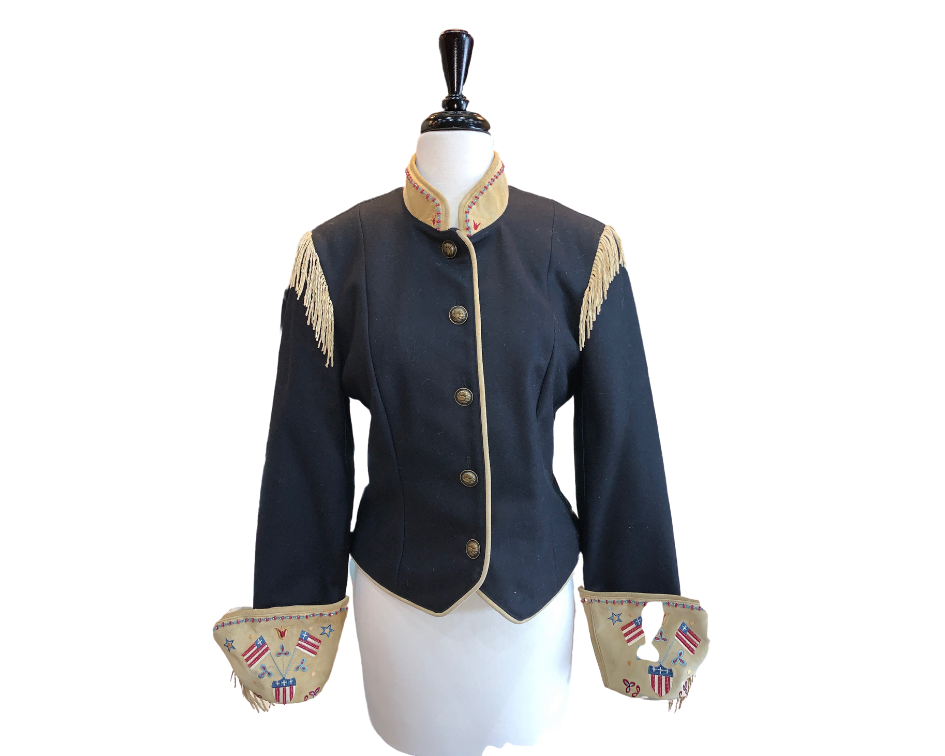 Double D Military Style Jacket