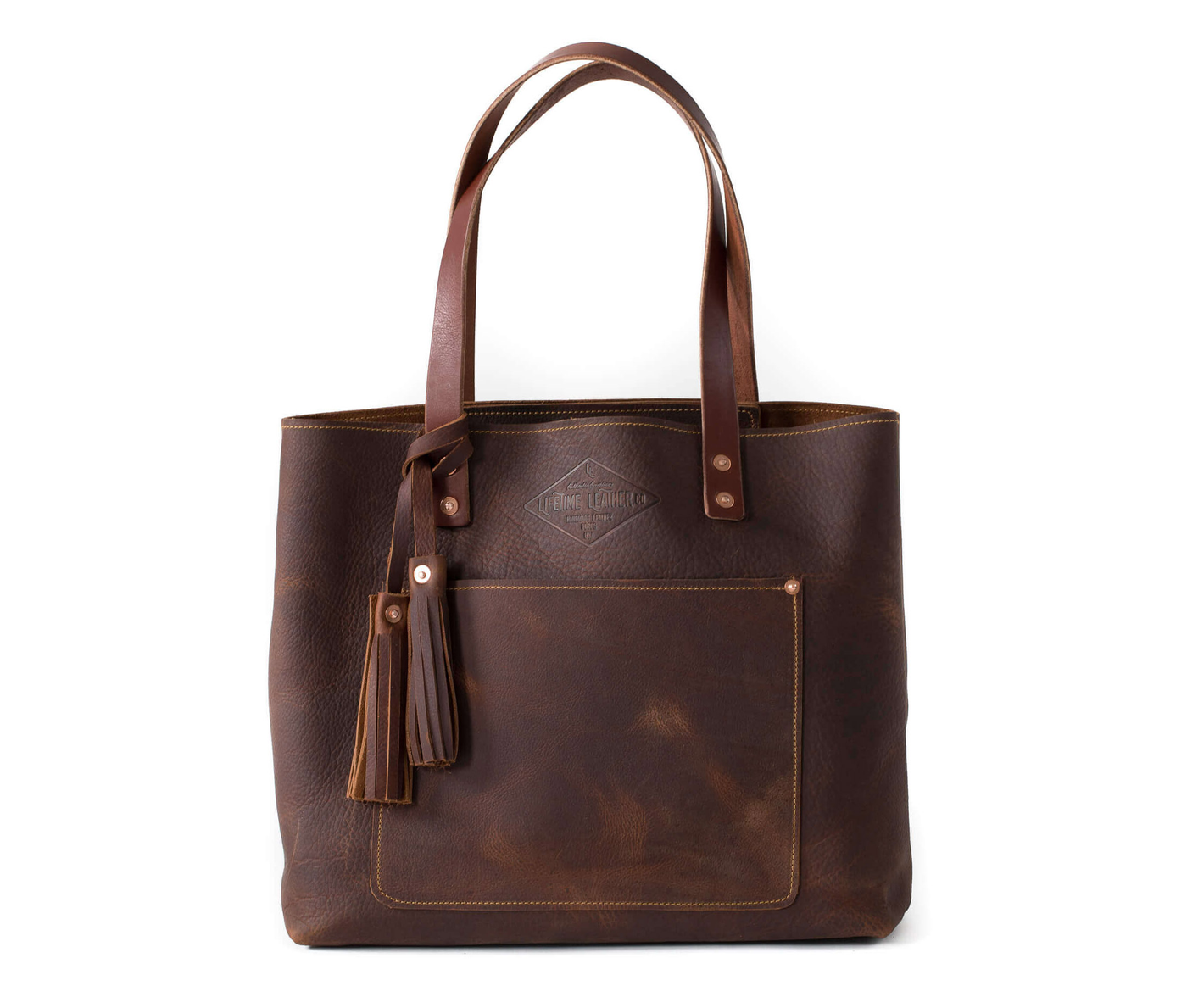 Authentic Handmade Leather Tote