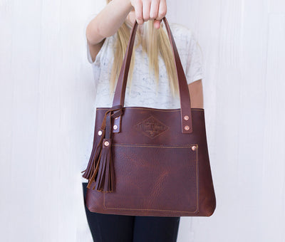 "Mini ""Pebble"" Tote"