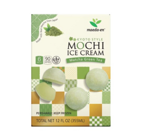 MOCHI ICE CREAM DE TE VERDE.