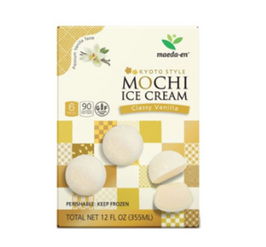 MOCHI ICE CREAM DE VAINILLA.
