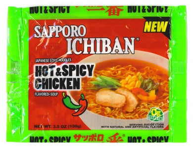 SOPA SAPPORO HOT & SPICY CHICKEN 100G