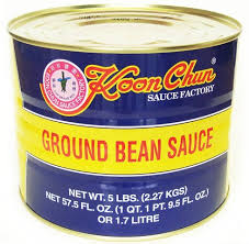 GROUND BEAN SAUCE 250 G (REENVASADO)