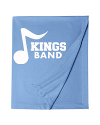 Kings Band Music Note Logo Blanket