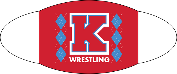 Kings Argyle Wrestling Face Covering