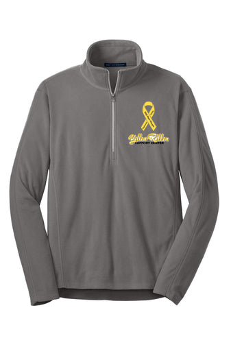 Yellow Ribbon fleece 1/4 zip