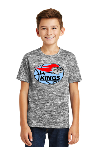 KBA Youth Electric Heather Tee