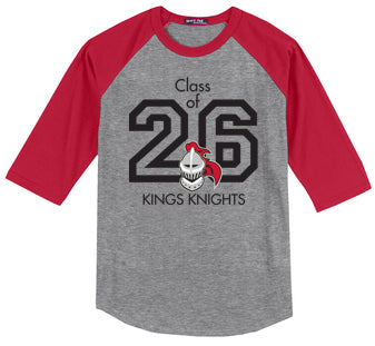 Columbia Class of 26 Baseball Tee