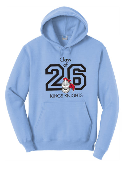 Columbia Class of 2026 Hoodie (Choose Red, Blue, or Gray)