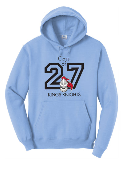 Columbia Class of 2027 Hoodie (Choose Red, Blue, or Gray)