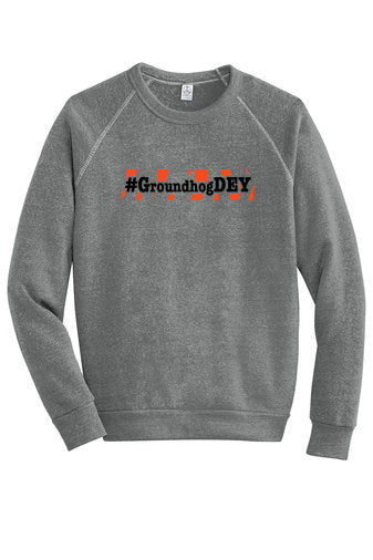 Groundhog Dey Vintage Fleece Crewneck
