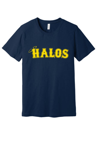 Halos Short Sleeved Logo Tee (Youth/Adult)