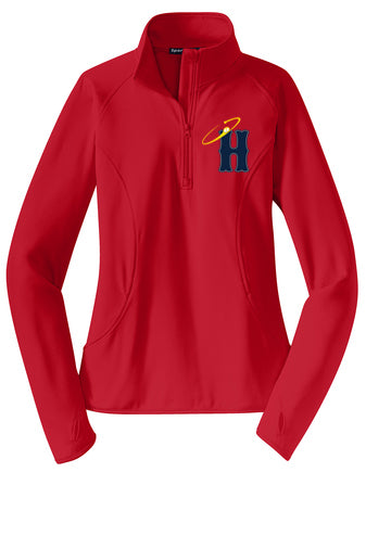 Halos Ladies Fit 1/4 Zip Performance Fleece Pullover