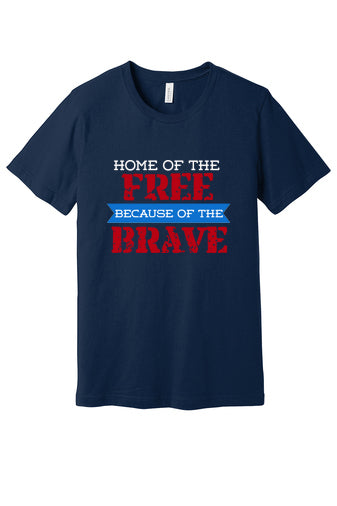Home of the Free (Choose Navy or Gray)
