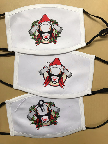 Warriors Christmas Face Coverings