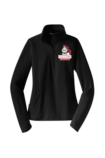 Kings Ladies Sport Tek 1/4 Zip Performance Fleece