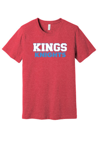 Kings Heather Red Tee (Unisex/Youth)
