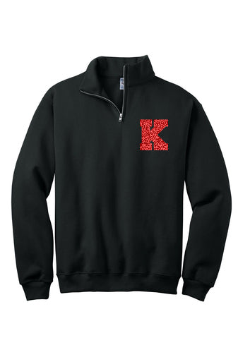 Kings 1/4 Zip with Shimmer K (Youth/Adult)