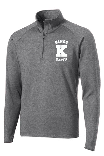 Kings Band 1/4 Zip Performance Unisex Pullover