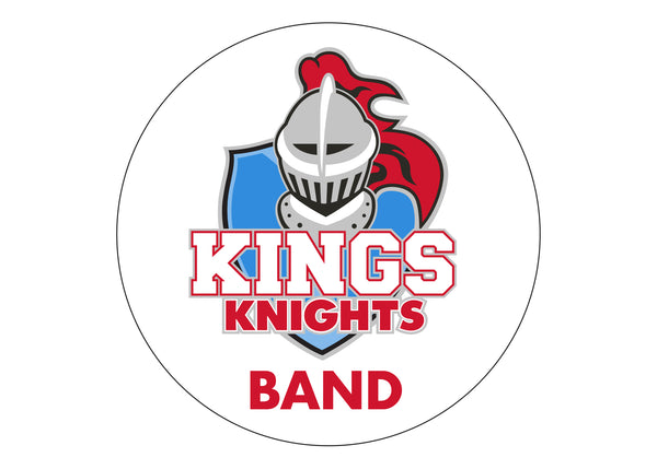 Kings Marching Band Car Magnet