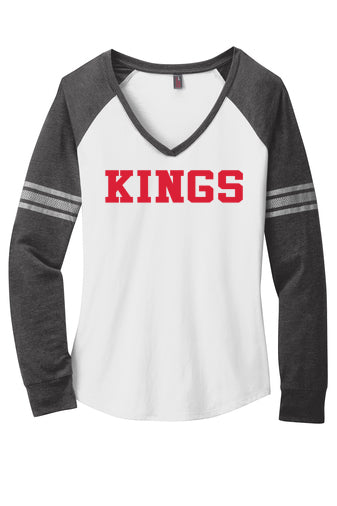 Kings Ladies Fit Game Day Long Sleeved Tee