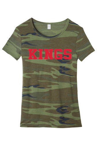 Kings Camo Ladies Fit Tee
