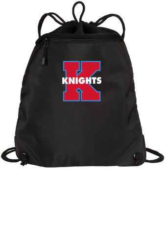 Kings Knights Cinch Sack with Chevron Logo