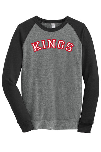 Kings Raglan Fleece Crewneck (Adult)