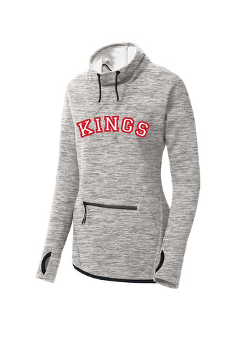 Kings Ladies Sport Tek Cowl Neck Sweatshirt