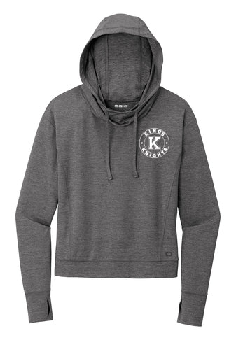 Kings Ladies Cropped Ogio Force Hoodie