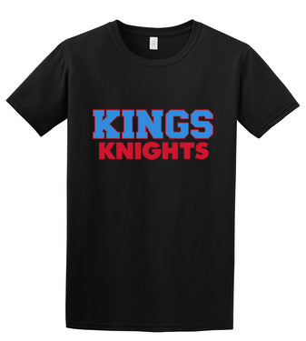 Kings Logo Tee (Youth/Adult) (Black or Gray)