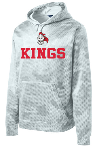 Kings Camo Hex Tech Hoodie (Youth-Adult 4X)