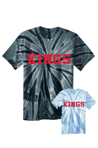 Kings Tie Dye Short Sleeved Tee