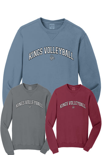 Kings Volleyball 2020 Beach Wash Crewneck