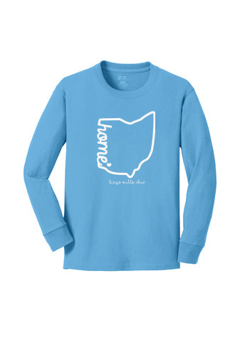 Kings Home Bright Blue Long Sleeved Tee