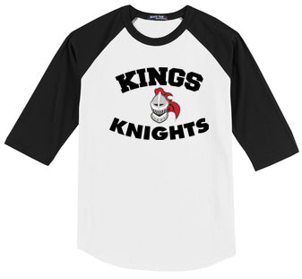 Kings Baseball Raglan Tee (Youth/Adult)