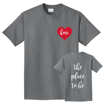 KME The Place To Be Short Sleeved Tee