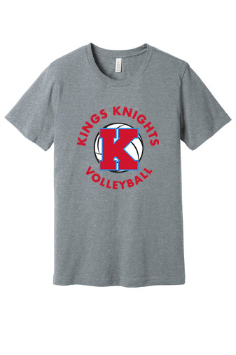 Kings Volleyball Short Sleeved Tee