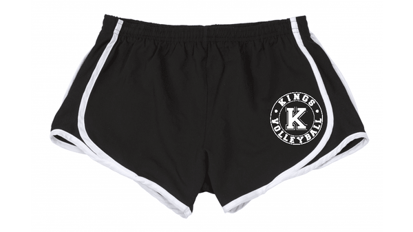 Boxercraft Kings Volleyball Girls/Ladies Sport Tek Running Shorts