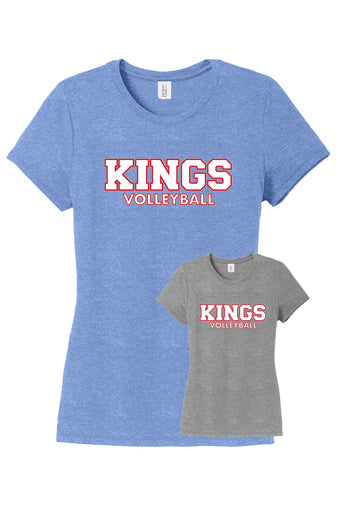 Kings Volleyball Ladies Fit Tee