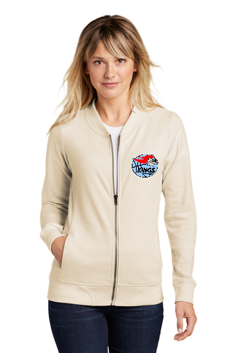Kings Ladies Lightweight French Terry Bomber