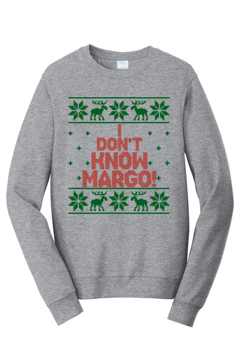 Todd and Margo Holiday Sweatshirts