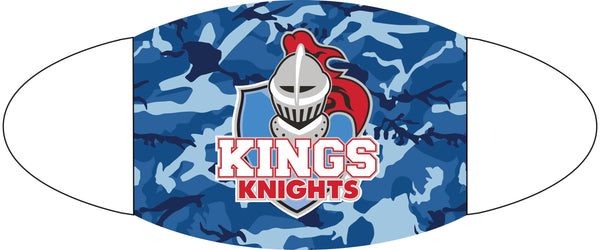 Kings Blue Camo Mask